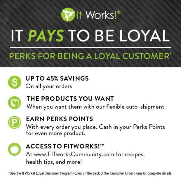 loyalty perks
